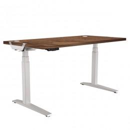 Стол с регулировкой высоты Fellowes Levado™. Орех-1400x800