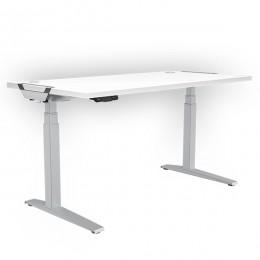 Стол с регулировкой высоты Fellowes Levado™. Белый-1400x800