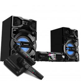 Караоке система AST-Home + Музыкальный центр Panasonic SC-MAX3500GS