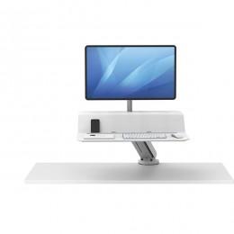 Платформа для работы сидя - стоя Lotus RT Sit-Stand белая 1 монитор