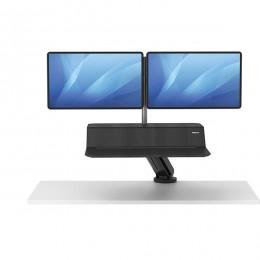 Платформа для работы сидя - стоя Lotus RT Sit-Stand черная 2 монитора